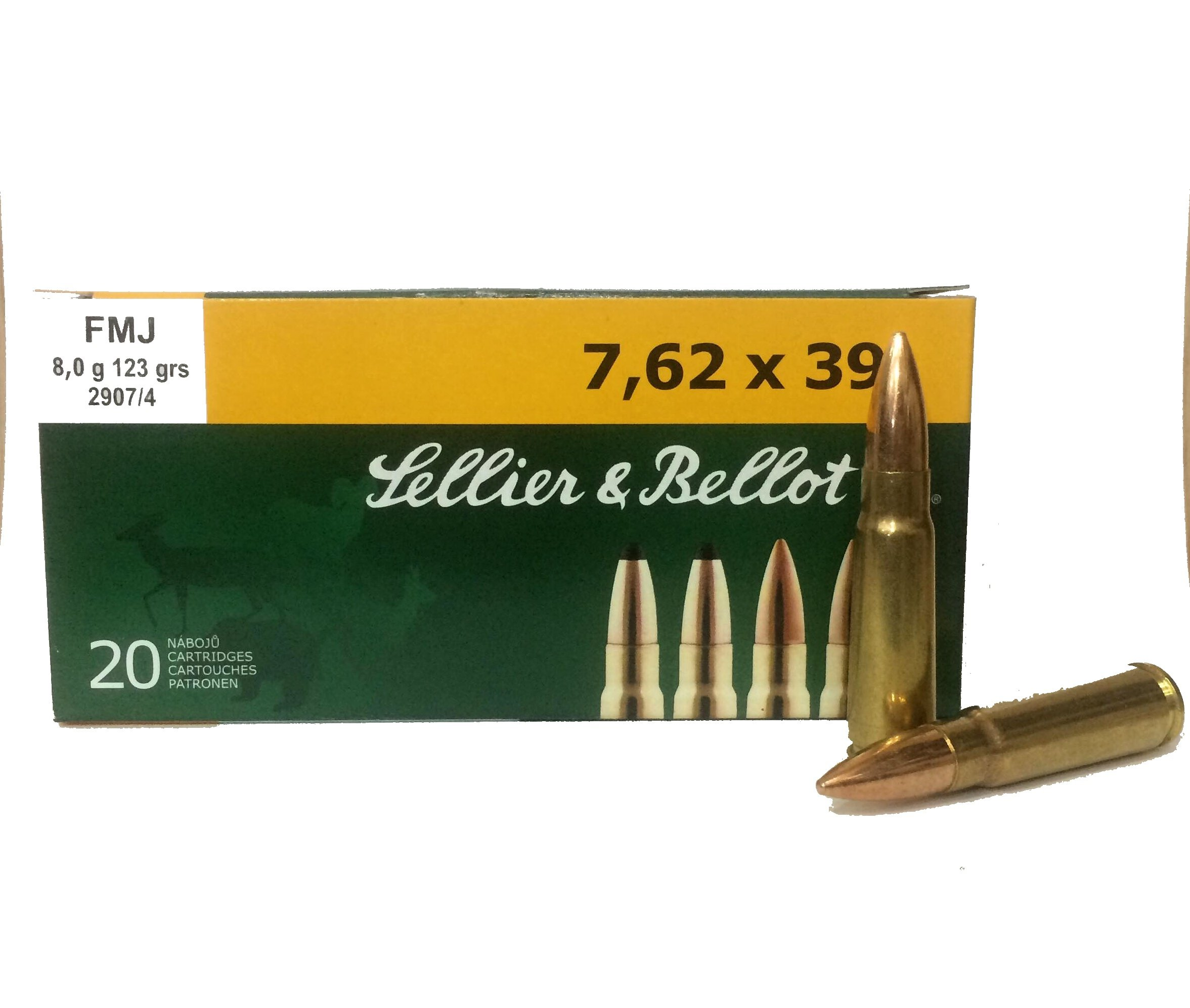 sellier & bellot  7.62X39